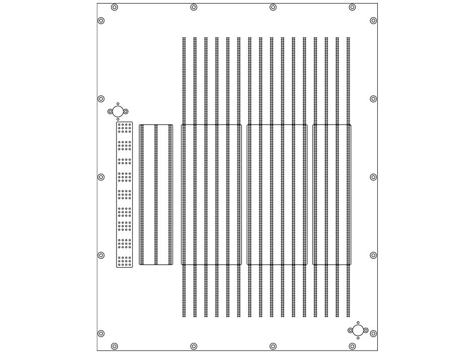 19 Slot Interface max. 4096 D/S